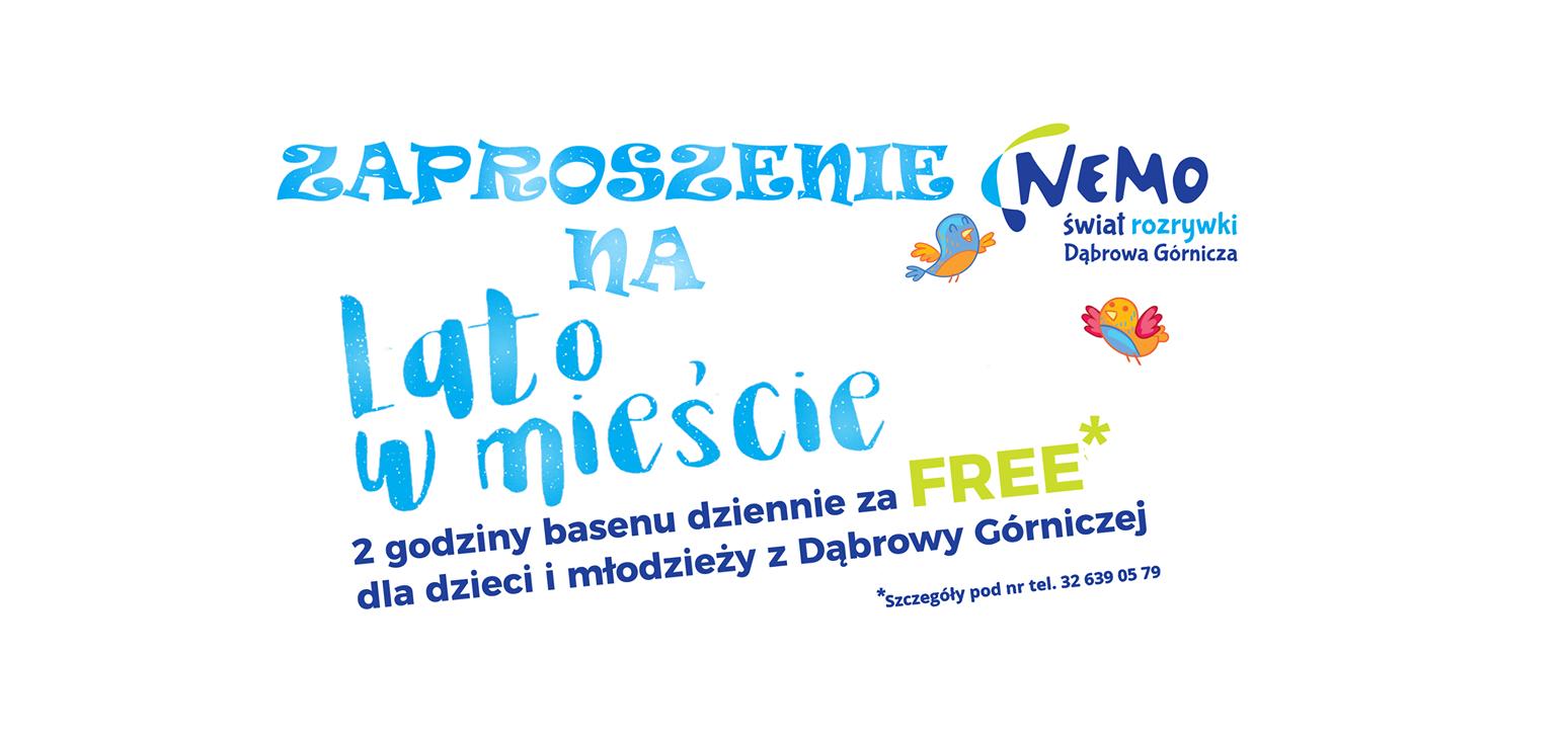 2 godziny basenu za FREE dla dzieci i młodzieży! - Dąbrowa Górnicza