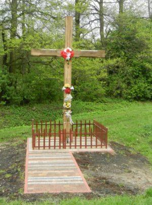Krzyż powstańczy przy ulicy Letniej