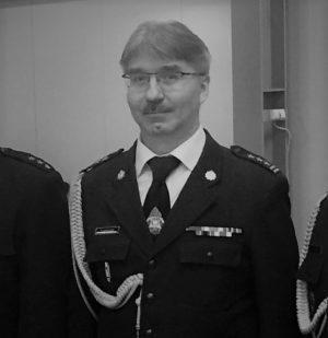 Zmarły Tomasz Kościow - były szef dąbrowskich strażaków